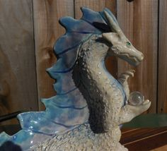 White Dragon by Dragonware on Etsy