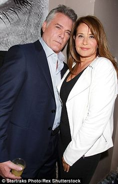 Twenty five years on: Ray Liotta and Lorraine Bracco catch up at Saturday's reunion