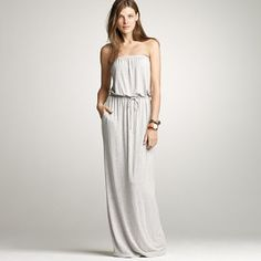this is the best maxi dress ever #jcrew #amie