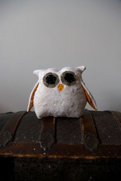Owlet Pillow by hilarycosgrove on Etsy, $45.00