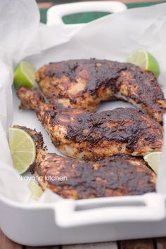 Roasted Chicken with Mole BBQ Sauce