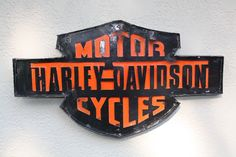 Check out this new product: Harley Davidson M...  Buy it here now: http://www.synonyco.com/products/harley-davidson-motor-cycles-recycled-metal-sign-14x24x1?utm_campaign=social_autopilot&utm_source=pin&utm_medium=pin