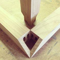 Modern Industry Design; 3-way miter detail