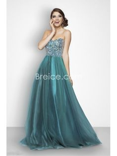 2013 Ball Gown Sweetheart Floor Length Tulle Prom / Formal / Evening / Party Dresses