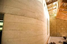 Strawbale and earth homes - Strawbale homes Photos - Poured earth or cobb homes