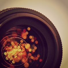 Looking at life through the lens of a camera