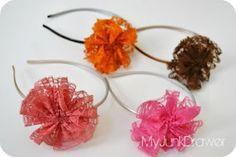 lace headbands @Nicole Arnold-Shadburne