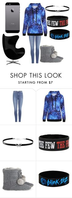 """Chill Day"" by fluffypunkk on Polyvore featuring Paige Denim, Giani Bernini, The White Company, Blink and FingerPrint Jewellry"