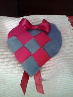 Ecco un cuore mille usi: sacchetto profumato, sacchetto porta confetti, segnaposto....