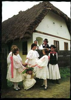 Ormánsági népviselet | Képeslapok | Hungaricana Costumes Around The World, Family Roots, Folk Costume, Oh The Places You'll Go, Hungary, Folk Art, Military, Culture, Minden