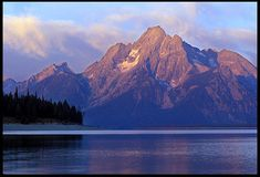 """Visual #BibleVerseoftheDay: Psalm 145:10-12 and Mount Moran at Sunrise, Grand Teton National Park, Wyoming.  """"All Your works shall give thanks to You, O LORD…"""" CLICK THE PHOTO for the complete passage. https://visualverse.thecreationspeaks.com/mighty-acts/"""