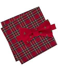 Nordic Christmas Winter Style: Father Christmas Silk Pocket Square by American Pocket Square Company Snowflakes