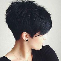 short hair: