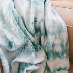 There's just something so wonderful about making a hand dyed textile for your home. It adds instant personality and interest to any space, and it's lots of fun! So when Joanna bought a new cream colored sofa for the loft she shares with not one, but two (wonderful and messy) animals, I knew an extra throw might come in handy… More →