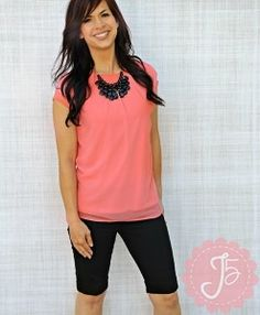 Oh how I LOVE this new top from #journeyfive It is perfect for SUMMER!!! Get yours at www.journeyfive.com