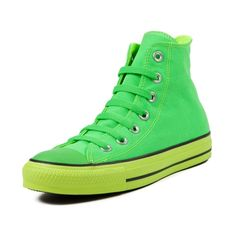 1e4178f6c51a9f I am loving the neon green and the fact that they are high tops!