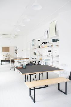 Small Space Design for the Creative Type? Wel…, – Creative Home Office Design Design Studio, Deco Design, Design Shop, Interior Architecture, Interior And Exterior, Interior Design, Small Space Design, Small Spaces, Workspace Inspiration