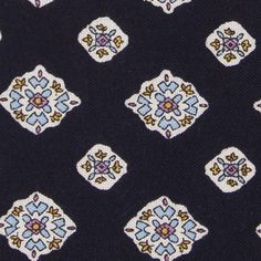 Knottery NY - Cotton foulard tie $15.00 (made in Brooklyn)