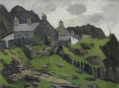 Artwork by Sir Kyffin Williams, Manod, Made of oil on canvas