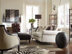 Zebra Cowhide Rug will add a safari decor in your decor King Furniture, Luxury Furniture, Furniture Design, Quality Furniture, Rugs In Living Room, Living Room Designs, Living Room Decor, Living Spaces, Living Area
