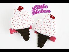 Little Helen Shop Origami Ribbon, Hair Bow Tutorial, Ribbon Sculpture, Ribbon Bows, Fabric Flowers, Drink Sleeves, Hair Bows, Hair Clips, Headbands