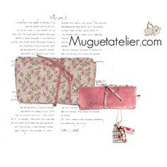 Handmade complements by Muguetatelier.com