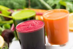 Flush away that weekend of junk food with these great tasting juice recipes that will cleanse your body and renew your body!