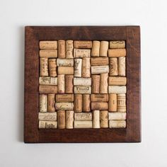 Wine Corker Vacuum #wineo #WineCorker Wine Cork Trivet, Wine Cork Crafts, Reclaimed Hardwood Flooring, Ipe Wood, Wine Corker, Recycled Wine Corks, Floor Stain, Mahogany Color, Wine Decor