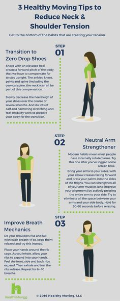 3 Tips to Reduce Neck & Shoulder Tai Chi Exercise, Fitness Tips, Health Fitness, Shoulder Tension, Apple Vinegar, Moving Tips, Natural Herbs, Migraine, Easy Workouts