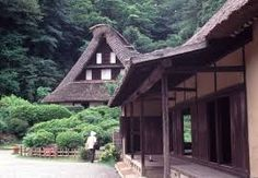 simple wood porch deep roof overhang