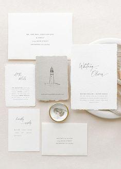 Wedding Invitations Australia, Nautical Wedding Invitations, Letterpress Wedding Invitations, Wedding Calligraphy, Classic Wedding Stationery, Minimal Wedding, Wedding Paper, A Boutique, Invitation Suite