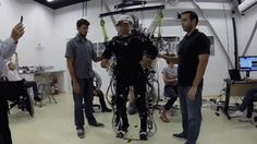 With brain training and an exoskeleton, paraplegics seem to regain some feeling in their legs.
