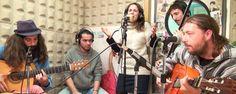 Acústico de Calima en los estudios de RGP (Radio Gladys Palmera) con el tema Azahar de su disco Solo Volar. @calimaoficial
