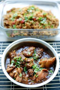 Surinaamse kip – Food And Drink Healthy Slow Cooker, Healthy Meals For Kids, Healthy Chicken Recipes, Lunch Recipes, Asian Recipes, Easy Cooking, Cooking Recipes, Tapas, Food Inspiration