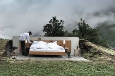 Open Air Hotel Room in the Alps — 5 things I learned today