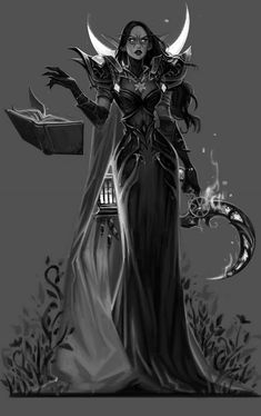 For Alewandz about Commissions Commission: Her Pallor Fantasy Women, Fantasy Rpg, Dark Fantasy Art, Fantasy Artwork, Fantasy Character Design, Character Design Inspiration, Character Art, Dnd Characters, Fantasy Characters