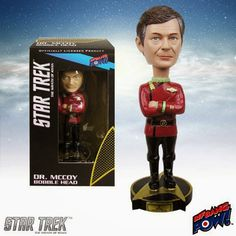 Base Estelar Nexus: Bobble Heads de McCoy y Uhura de ST II