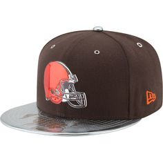 72516ea82a8dc2 Men's Cleveland Browns New Era Brown NFL Spotlight 59FIFTY Fitted Hat,  $39.99