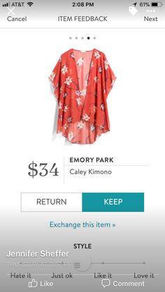 Dear Stylist: I desire a kimono that is not black or gray