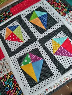 Kites!  ~ by A Quilting Sheep