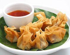 Vietnamese Recipes – Fried Wonton Dumplings or Cakes – Hoanh Thanh Chien (Mon An Goc Hoa)