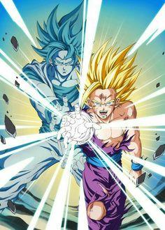 Gohan & Goku #db #dbz #dragonball
