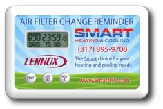 Help your clients and community conserve energy and save money with the Original Timeflyz Air Filter Change Reminder...a handy promotion that solves a common problem for most homeowners ... remembering to change their air filter. The Air Filter Change Reminder is credit card sized refrigerator magnet that features a built in desk stand, custom 4 color printing and 1.5v button cell battery for long lasting promotional appeal. Timer sets for ANY 30 increment with a simple push of the 30 Day…