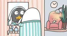 Duck Illustration, Funny Duck, Little Duck, White Ducks, Cartoon Pics, Cute Wallpapers, Game Art, Chibi, Character Design
