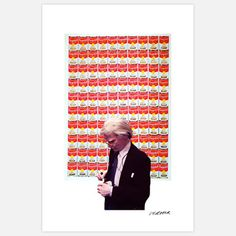 Warhol Soup Can Ptg 11x17  by Stephen Verona  @ Capital Art