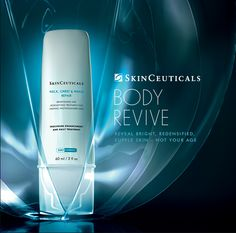 Specifically designed for the skin quality and concerns of forgotten body areas frequently exposed to the sun, SkinCeuticals Neck, Chest & Hand