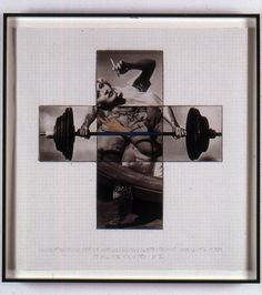 John Baldessari, 'Intersection Series: Woman (With Cigarette) and Weight Lifter (Maquette),' 2002, Mai 36 Galerie