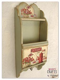 Ξύλινη φακελοθήκη | Κλειδοθήκες-Γραμματοθήκες | Διακοσμητικά Τοίχου | Woody's Crafts by Ifigeneia | Μάθε περισσότερα στη διεύθυνση: http://j.mp/woodys-crafts-gallery-kleidothikes-grammatothikes