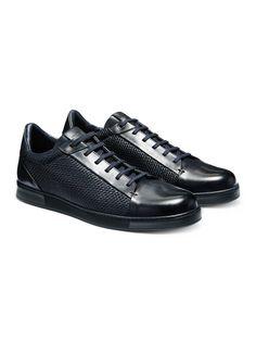 sports shoes 49fb4 ca2cb Zapatillas Pelle Tessuta FW16 9903716   Zegna Mocasines Hombre, Zapatillas  Casual, Zapatero, Zapatillas
