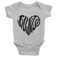 Jiu Jitsu Heart Infant short sleeve BJJ onesie